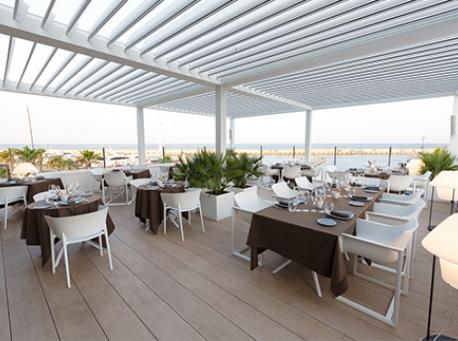 CDM BEACH CLUB restaurante Terraza
