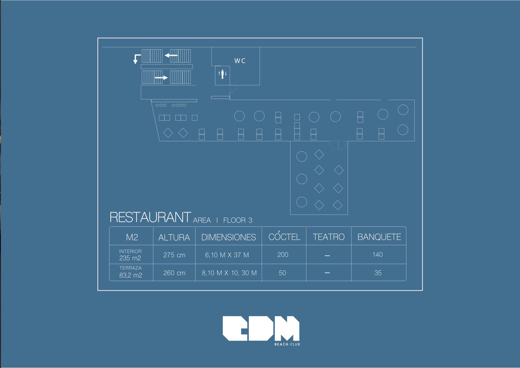Plano Restaurante
