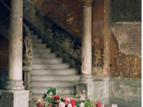 Castell de Ben Viure escalera