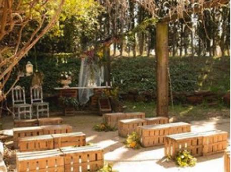 Castell de Ben Viure montaje jardin