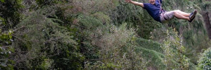 VILAR RURAL SANT HILARI Activitat bosc vertical 2