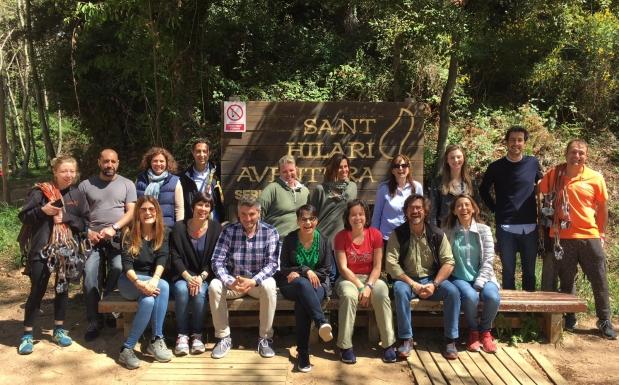 """MICE addicts"" en Vilar Rural Sant Hilari Sacalm"