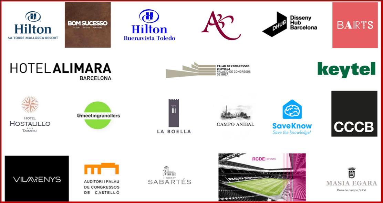 Logos espacios eventos OuiSellYou